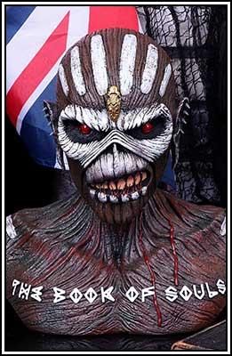 Iron Maiden Bust Box