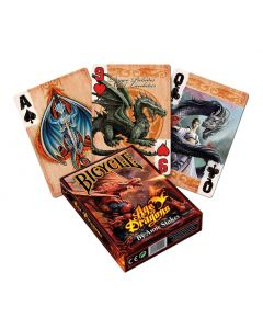 Anne Stokes Age of Dragons Playing Cards Dragons Künstler Drachen