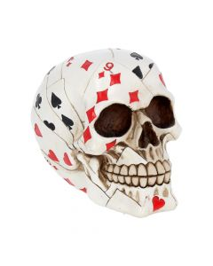 Dead Mans Hand Playing Card Skull Ornament Skulls