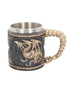 Dragon Skeleton Tankard 15cm Dragons Dragons Value Range
