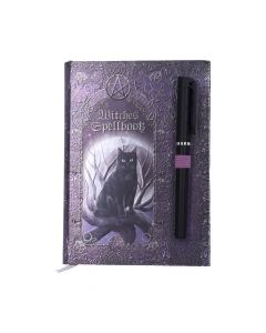 Embossed Witches Spell Book A5 Journal with Pen P6 Cats Luna Lakota Artist Collections