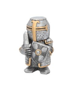 Silver knight Sir Defendalot figurine NN Small Figurines