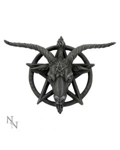 Baphomet Head Goat God Deity Pentagram Wall Plaque Popular Products - Dark