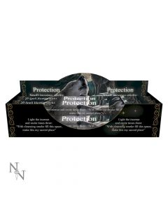 Protection Spell Lavender scented Incense Sticks by Lisa Parker Artist Wolves