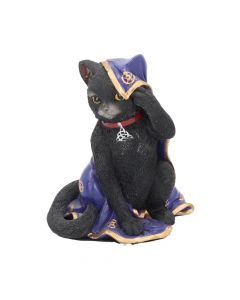 Jinx Black Cat Figurine Wiccan Witch Gothic Ornament NN Small Figurines