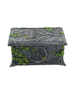 Wiccan Pentagram Tarot Box 17.5cm Witchcraft & Wiccan Wicca