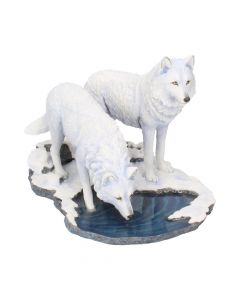 Warriors of Winter (LP) 35cm Wolves Lisa Parker Large Figurines Artist Collections