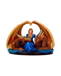 Anne Stokes Fierce Loyalty Dragon Duo Companions Figurine Artist Medium Dragons