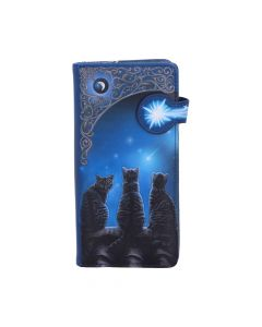 Wish Upon a Star Embossed Purse (LP) 18.5cm Cats Mother's Day Artist Collections