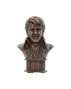 Elvis Bust (Small) 18cm Famous Icons Wieder auf Lager