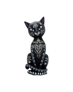 Mystic Kitty Figurine Spirit Board Black Cat Ornament Luna Lakota