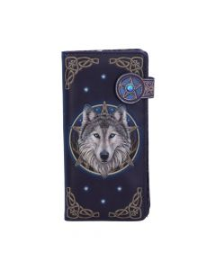 Wild One Embossed Purse (LP) 18.5cm Wolves Mother's Day Artist Collections