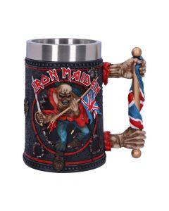 Iron Maiden Tankard 14cm Band Licenses Iron Maiden Artist Collections