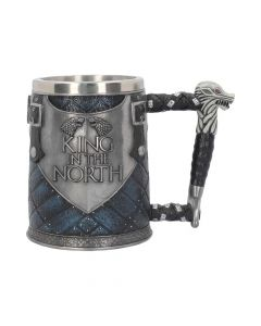 King in the North Tankard 14cm (GOT) Fantasy Game of Thrones Artist Collections