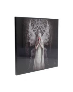 Anne Stokes Small Only Love Remains Gothic Angel Crystal Clear Picture Artist Fairies