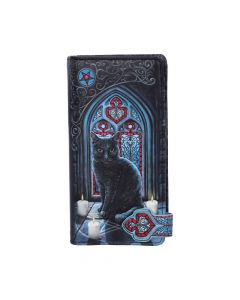 Sacred Circle Embossed Purse (LP) 18.5cm Cats Lisa Parker Artist Collections