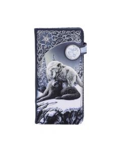 Snow Kisses Embossed Purse (LP) 18.5cm Wolves Mother's Day Artist Collections