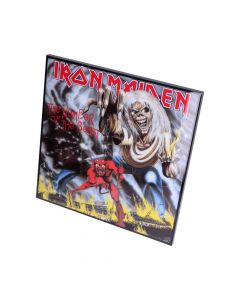 IronMaiden-Number of the Beast Crystal Clear 32cm Band Licenses Iron Maiden