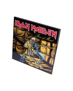 Iron Maiden-Piece of Mind Crystal Clear 32cm Band Licenses Iron Maiden Artist Collections