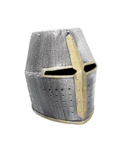 Nemesis Now Silver Knight Crusader Helmet (Pack of 3) Medieval