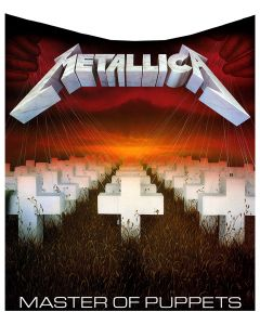 Metallica Master of Puppets Blanket Album Throw Metallica