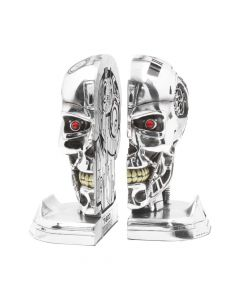 T-800 Terminator 2 Judgement Day T2 Head Bookends Terminator 2