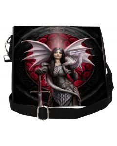 Valour Embossed Shoulder Bag (AS) 25cm Dragons Mother's Day Artist Collections