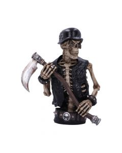 Ride out of Hell Bust (JR) 30cm Bikers Large Figurines Artist Collections