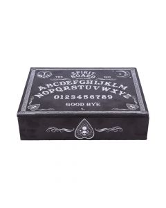 Black and White Spirit Board and Planchette Jewellery Storage Box with Mirror Popular Products - Dark