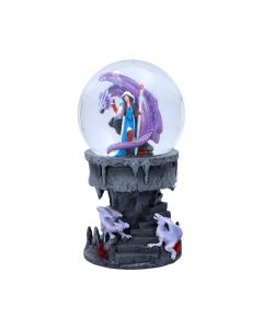 Dragon Mage Snow Globe (AS) Dragons Decorations Artist Collections