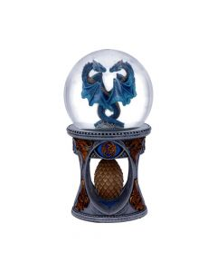 Anne Stoke Dragon Heart Snow Globe Shaker Artist Dragons