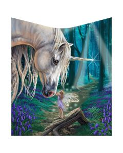 Fairy Whispers Throw (LP) 160cm Unicorns Artist Collections