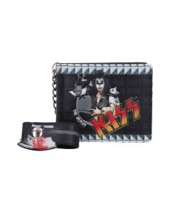 KISS - The Demon Wallet Band Licenses Stocking Fillers Artist Collections