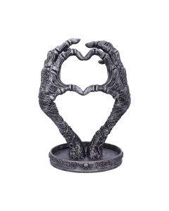 Gothic Mummified Love Heart Hands Jewellery Dish Holder New in Stock