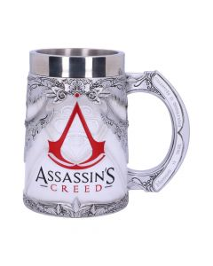 Officially Licensed Assassins Creed White Game Tankard Fantasy