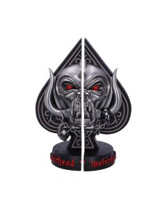 Offically Licensed Motorhead Ace of Spades Warpig Snaggletooth Bookends New Product Launch