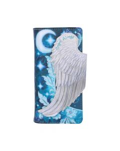 Angel Wings Embossed Purse 18.5cm Angels Artist Collections