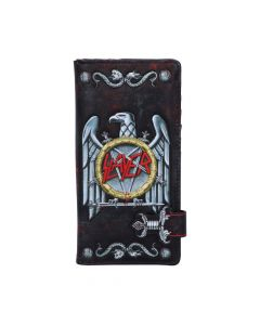 Slayer Embossed Purse 18.5cm Band Licenses New in Stock Artist Collections