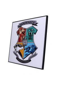 Harry Potter-Hogwarts Crest Crystal Clear Picture Fantasy Harry Potter Artist Collections