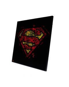 Superman - Crystal Clear Picture 32cm Fantasy Superman Artist Collections