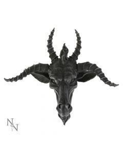 The Goat Of Mendes Plaque Baphomet Occult Wall Hanging Wall Hanging Sculptures
