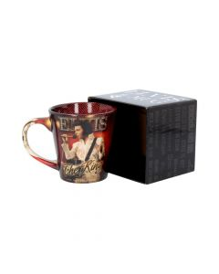 Mug - Elvis - The King 12oz Famous Icons Mug Collection - NN Premium Premium Range