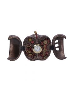Steampunk Forbidden Fruit Apple Clock Steampunk