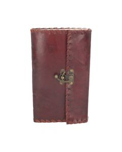Leather Journal with Lock 14cm x 23cm Witchcraft & Wiccan Wicca