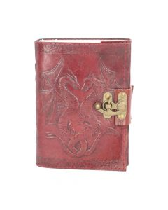 Nemesis Now Lockable Double Dragon Leather Embossed Journal Dragons