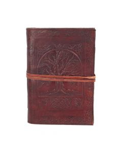 Tree Of Life Leather Embossed Journal 18 x 25cm Witchcraft & Wiccan Wiccan Premium Range