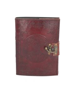 Tree Of Life Leather Journal w/lock 15 x 21cm Witchcraft & Wiccan Wiccan Premium Range