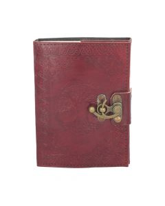 Tree Of Life Leather Journal w/lock 13 x 18cm Witchcraft & Wiccan Wiccan Premium Range