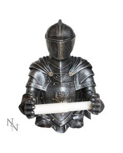 Sir Wipealot Medieval Armoured Knight Toilet Roll Holder Back in Stock