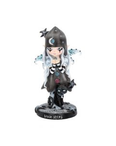 Black Stars 18cm Fairies Fairy Figurines Medium (15-29cm) Premium Range
